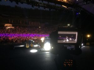 On stage live