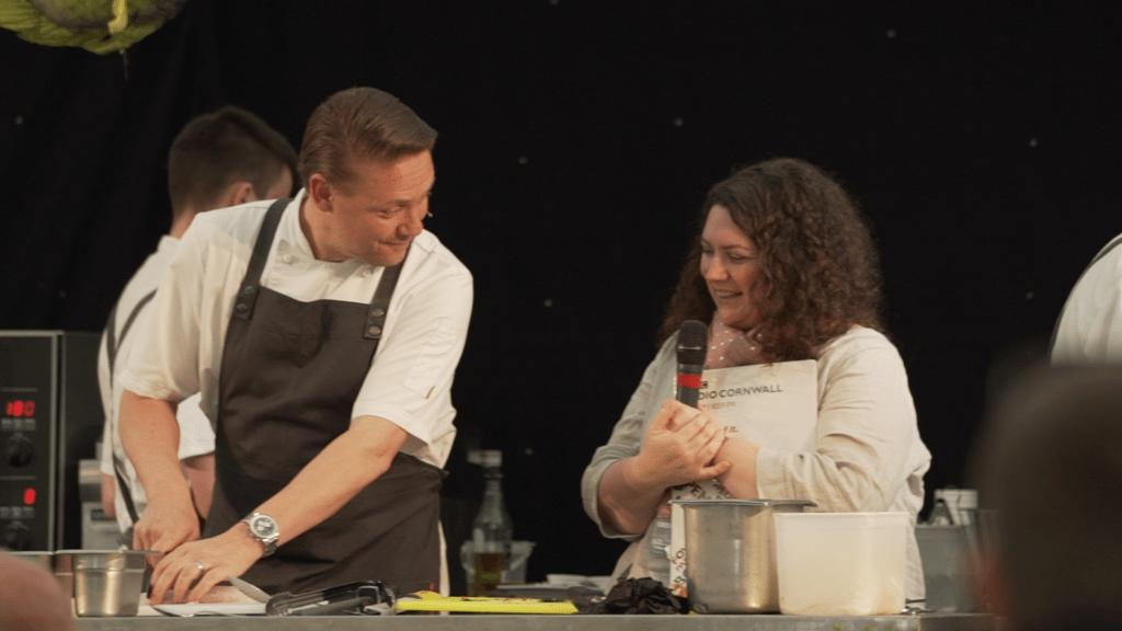 chef demonstrations porthleven food festival