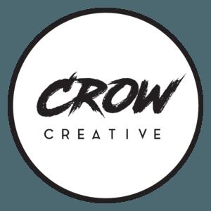 Crow Creative Logo Circle Border