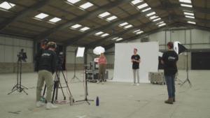 Filming Royal Cornwall Showground