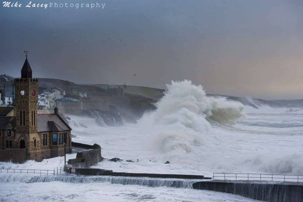 Cornwall Winter Storm