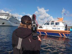 Fionn DoP on Falmouth Harbour Shoot