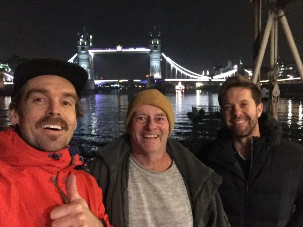 Film crew Greg John and Fionn Truk Lagoon Documentary