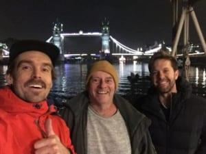 Film crew Greg John and Fionn