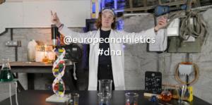 Filming for European Athletics Teaser