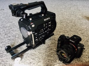 Sony FS7 and A7S