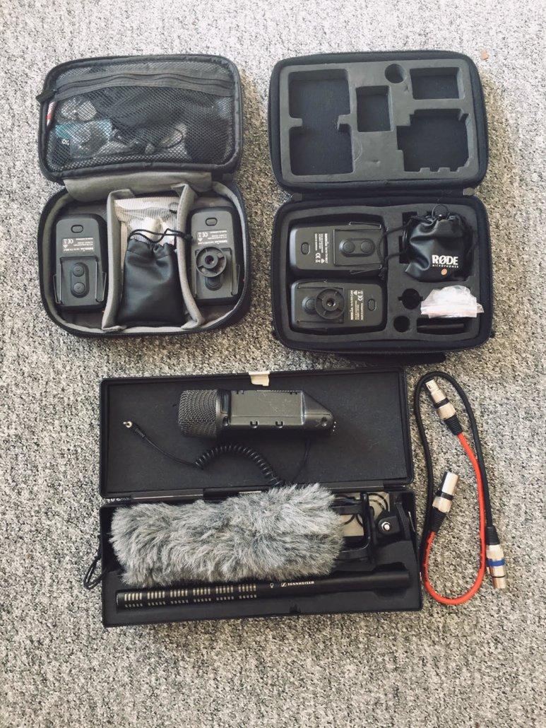 Sound recording kit